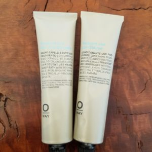 Oway Frequent Use Hair Bath and Conditioner Travel Duo