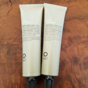 Oway Curly Hair Bath and Mask Travel Duo